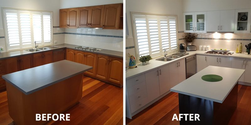 Kitchen facelift Moorabbin