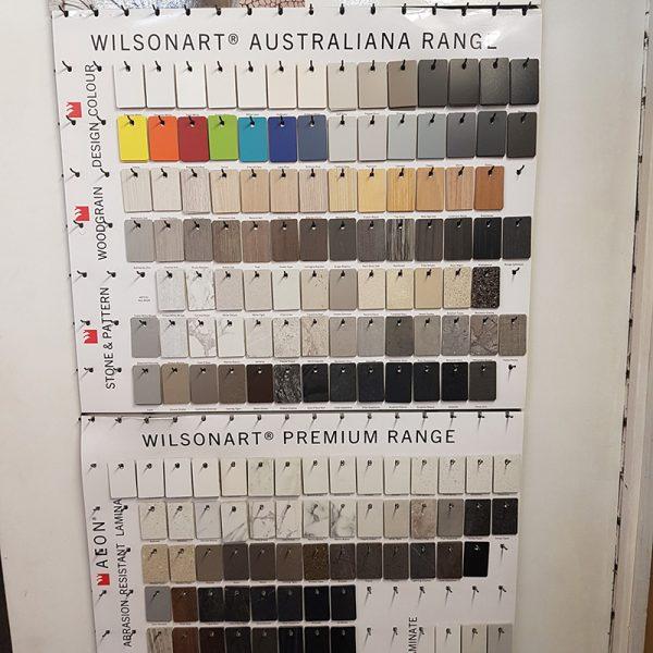 Wilsonart Colour Samples